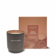 Ceremony In Bloom  Sweet Rhubarb Scented Soy Candle
