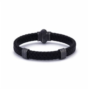 Atolyewolf  Oxide Thick Leather Bracelet