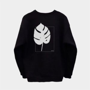 fi.dayy  Monstera Unisex Sweatshirt