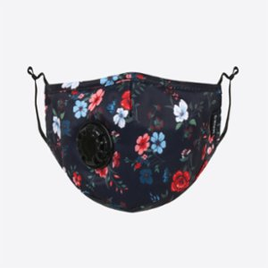 Chum  Flora Washable Mask With PM 2.5 Activated Carbon Filter