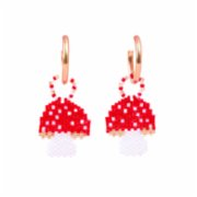 Pemy Store  Mushroom Charm Earrings