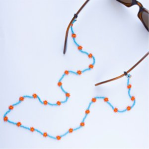 Pemy Store  Ocean Life Daisy Glass Chain