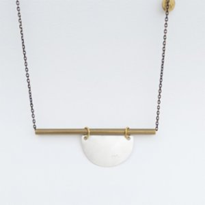 POJWoman by Pelin Özerson  Long Chain Equilibrium Necklace