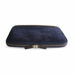 Bustha  Earth C Classic 13 '' Suede And Leather MacBook Bag
