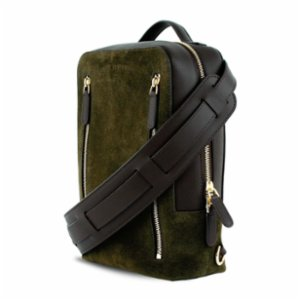Bustha  Earth C Downtown S Crossbody Leather And Suede Backpack