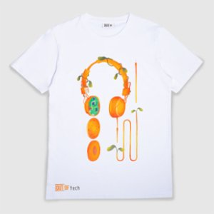 Out Of  Headphone Unisex Tshirt