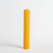 Root Aromaterapi  Thick Size  Rolled Natural Beeswax Candle