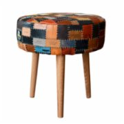 Upcycle Design by Ali Semiz  Round Jakron Pouffe