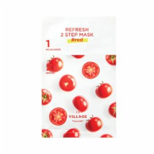 Village 11 Factory  Refresh 2 Step Mask Red