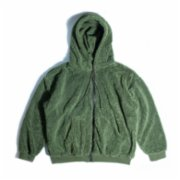 Not Enough Color  Oversize Full Zipper Hoodie