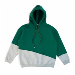 Not Enough Color  Oversize Layered Hoodie - I
