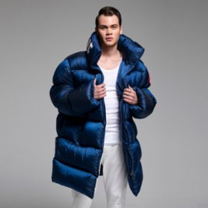XUMU  Volodimen A Giant Puffer Coat With Customizable Printed Collar