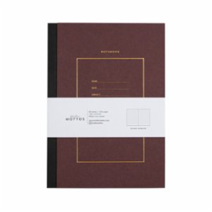 Studio Mottos  Dotted Hard Cover Notebook