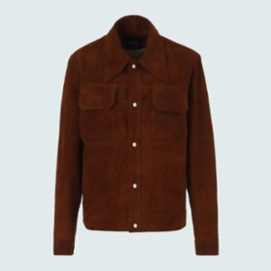 Vera  Montieri Suede Jacket For Him