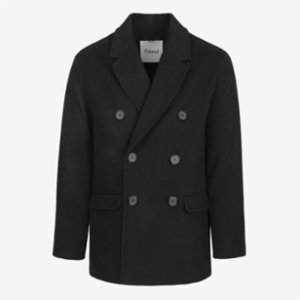 Faund  Double Breasted Wool Blend Jacket