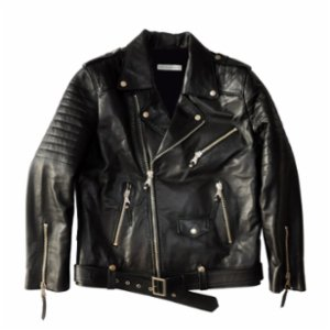 The Black Ears  Leather Jacket - I