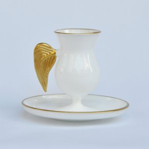 Martius  Wings Coffee Cup And Saucers