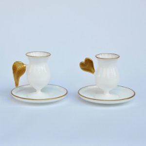 Martius  Wings And Heart Coffee Set