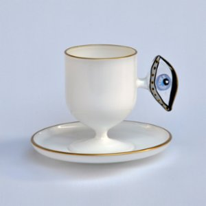 Martius  Eye Coffee Cup And Saucer
