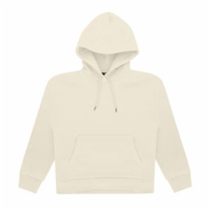 Bassigue  Natural Dye Creme Oversize Hoodie