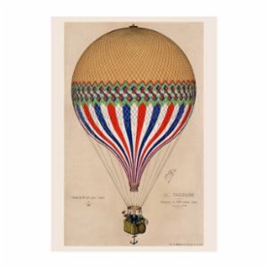 Sauca Collection	  Balloon Tricolore Printing